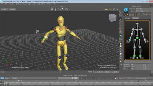Up and Running with MotionBuilder with