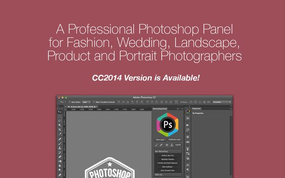 Retouching Panel 2.10 For Photoshop