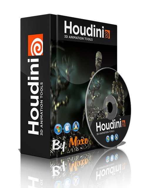 Houdini 16.0.504.20 Win/Mac x64 xforce