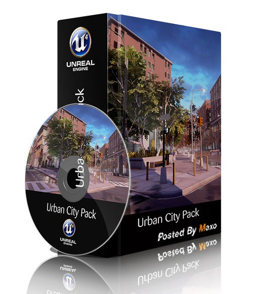 Unreal Engine 4 Marketplace - Urban City Pack