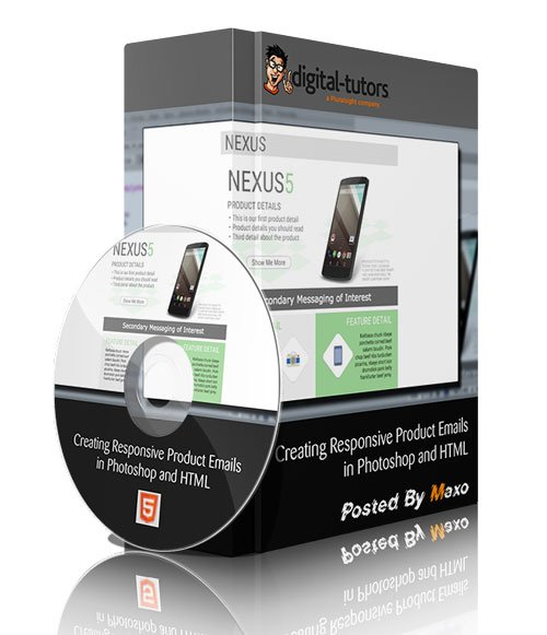 Digital Tutors - Creating Responsive Product Emails in Photoshop and HTML