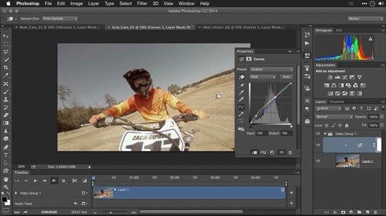 Editing GoPro HERO Photos and Videos with Lightroom and Photoshop