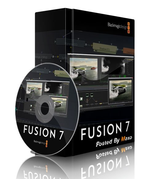 Blackmagic Design Fusion Studio v7.7 Win