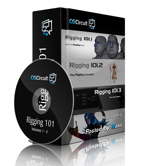 CGcircuit - Rigging 101.4 Volumes 1 - 4