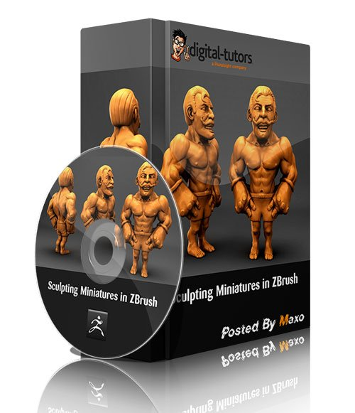 Digital Tutors - Sculpting Miniatures in ZBrush