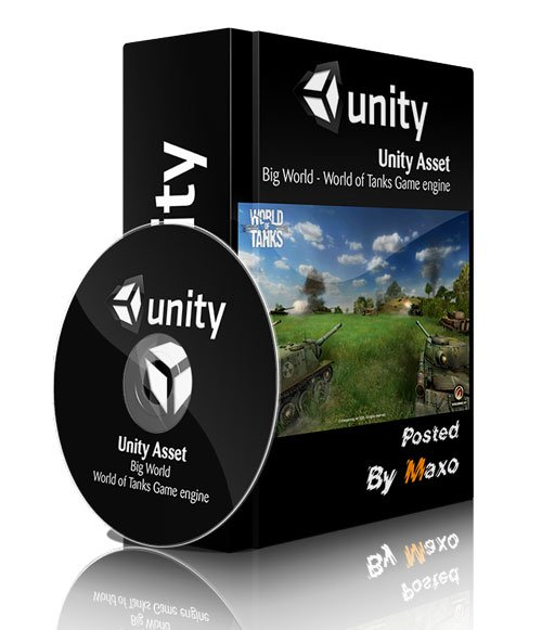Unity Asset - Big World - World of Tanks Game engine