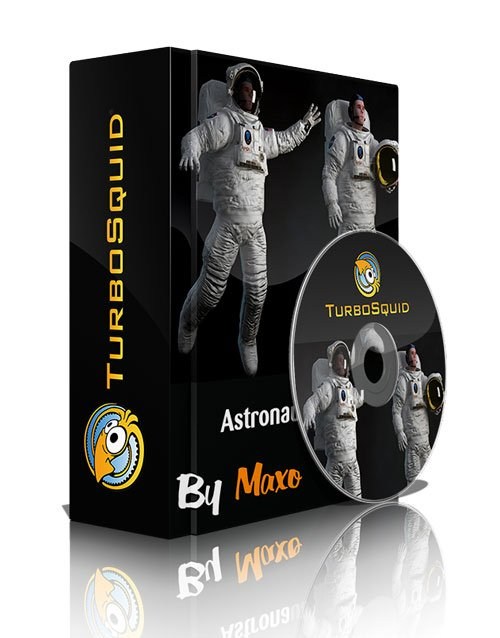 Turbosquid - Astronaut Rigged