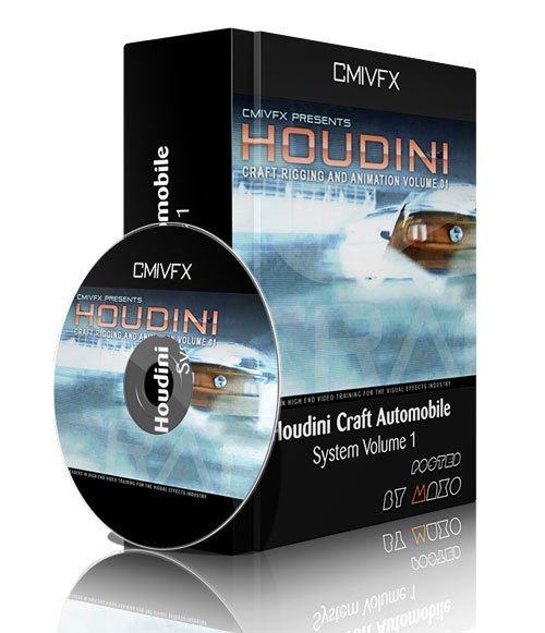 cmiVFX - Houdini Craft Rigging and Animation Volume 1