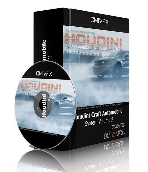 cmiVFX - Houdini Craft Automobile System Volume 2
