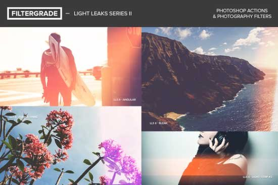 CreativeMarket - FilterGrade Light Leaks Series II