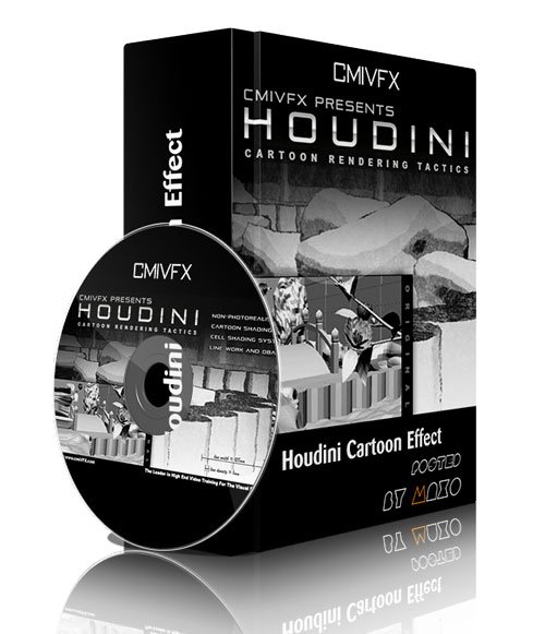cmiVFX - Houdini Cartoon Effect