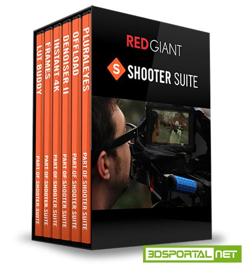 Red Giant Shooter Suite v12.7.2 CE