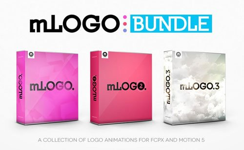 mLOGO - Bundle Collection of Logo Animations for FCPX and Motion 5