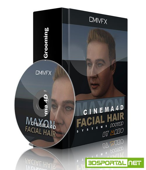 cmiVFX - Cinema 4D Facial Hair Grooming