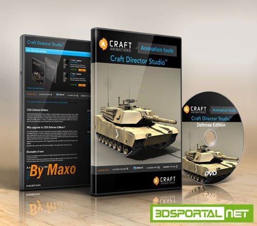 Craft Director Studio Defense Edition v15.1.7 For 3Ds MAX and MAYA