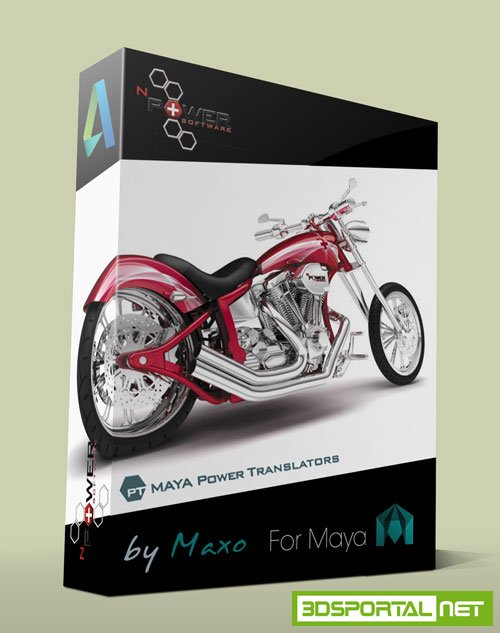 nPowerSoftware PowerTranslators R800 For Maya 2016 Win64