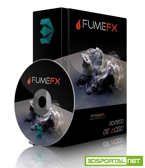 SitniSati FumeFX 5.x for 3DS MAX 2018-19