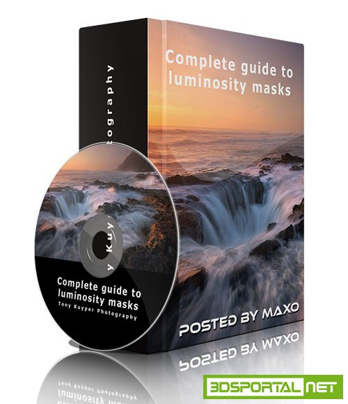 Complete guide to luminosity masks 2nd edition + TKActions V4 for Adobe Photoshop