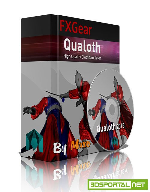 FXGear Qualoth 4.2-1 For MAYA 2011-2016 Win
