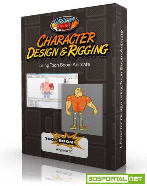 CartoonSmart - Character Design and Rigging Tutorials Toon Boon Animate