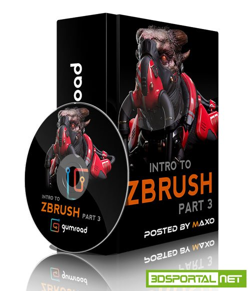 Gumroad - Intro To ZBrush Part 3 by Michael Pavlovich