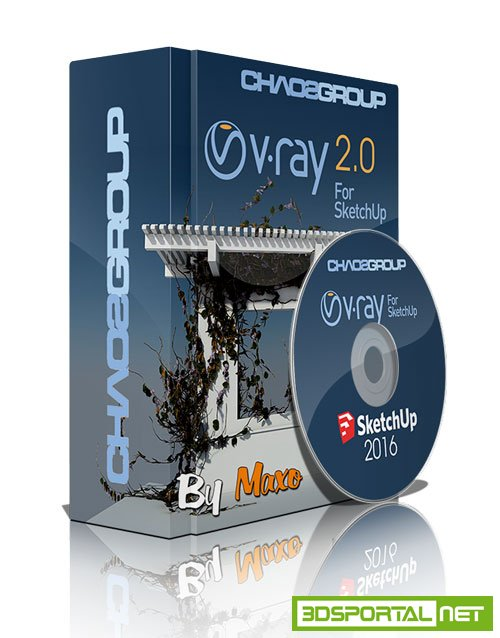 V-Ray adv 20026494 for SketchUp 2016 Win64