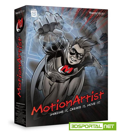 SmithMicro MotionArtist 1.3 Build 14633 ESD Win/Mac