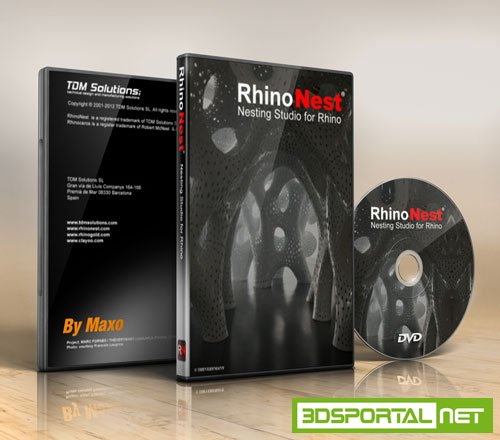 TDM Solutions RhinoNest v4.0.0.2 for Rhino Win32/Win64
