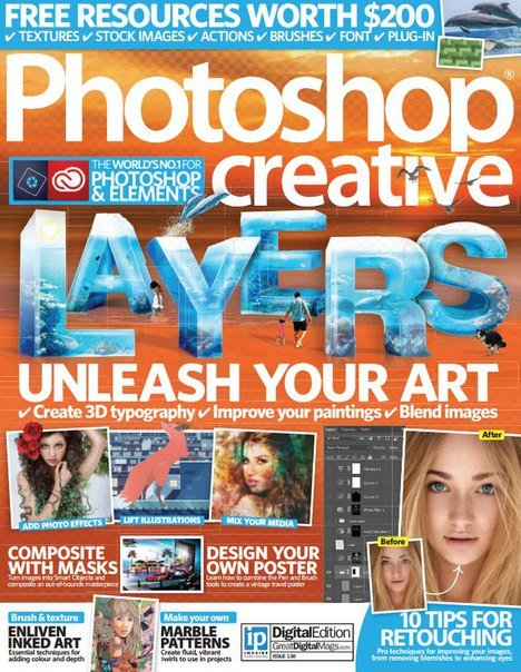 Photoshop Creative - Issue 138, 2016