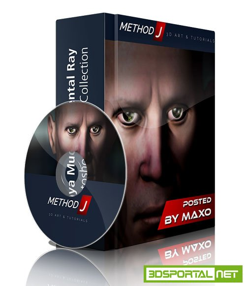 MethodJ - Maya Mudbox Mental Ray Photoshop Tutorial Collection