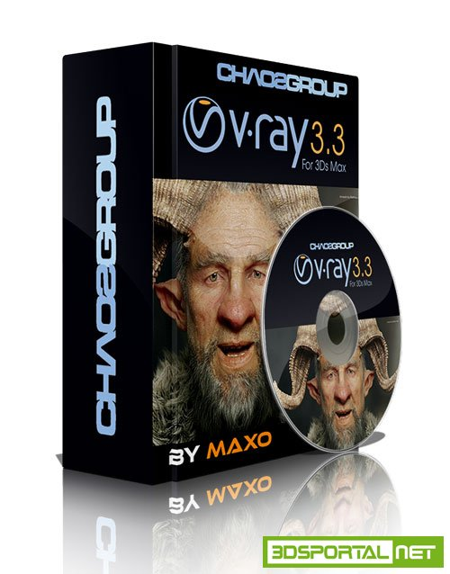 V-ray 3.4.01 For 3ds Max 2017 Win64