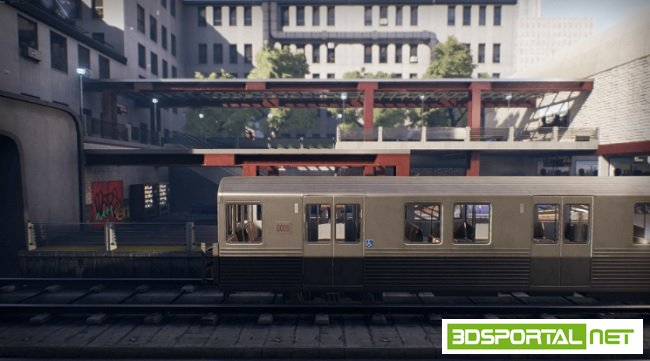 Unreal Engine 4 Marketplace - Subway Environment