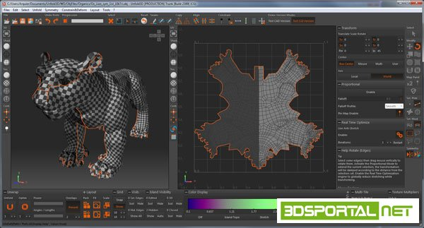 Polygonal-Design Unfold3D Networking CGI v9.0.3 Build 2611 WIN