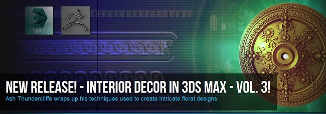 Interior Decor in 3ds Max Volume 3
