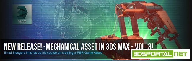 Mechanical Asset In 3ds Max Volume 3