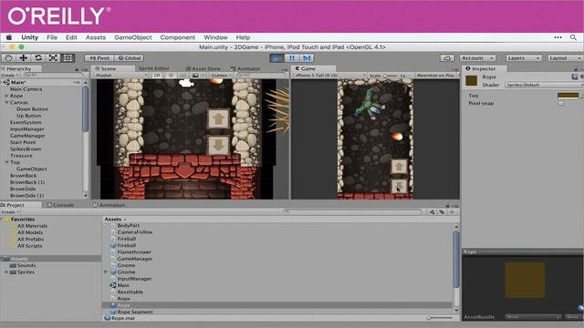 O'Reilly - Creating 2D Games with Unity