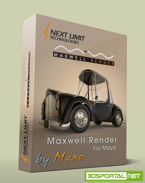 NextLimit Maxwell Render for Maya v4.0.4 Win64