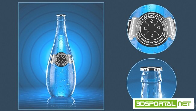 Creating a Photorealistic Beverage Ad in LightWave 3D