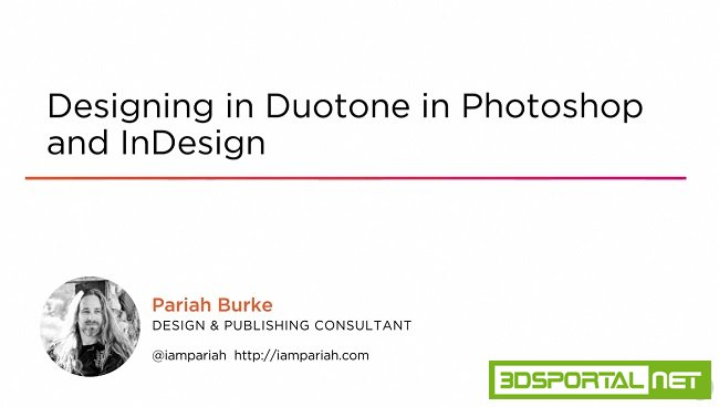 Designing in Duotone in Photoshop and InDesign