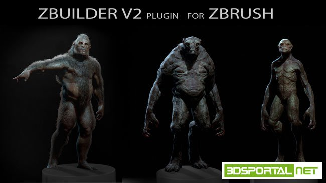 Human Zbuilder v2 Win/Mac