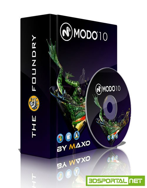 The Foundry MODO 10.2v2 Win/Mac/Lnx