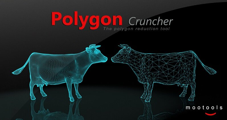 Mootools Polygon Cruncher 11.10 for Maya and 3ds Max 2017 Win