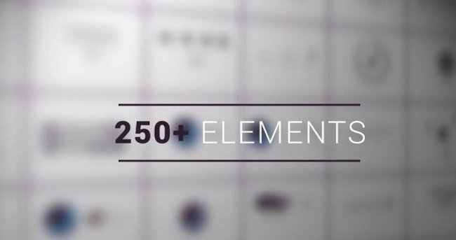 POND5 - 250 Infographic Elements