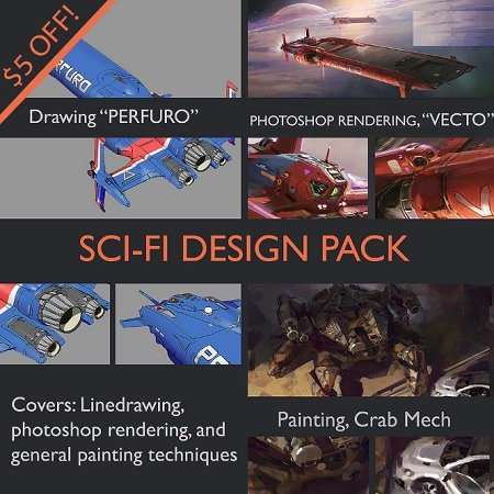 Gumroad – Sci Fi Design Pack by John Wallin Liberto