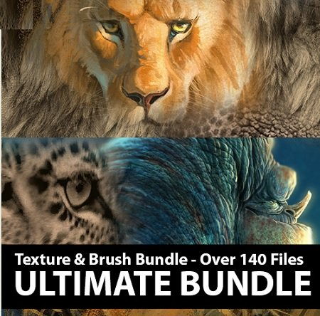 Creatureteacher - Aaron Blaise - ULTIMATE Brush & Texture Bundle