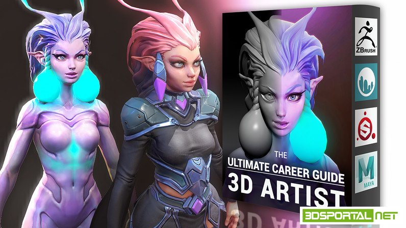 Cubebrush - Ultimate Career Guide 3D Artist Update Chapter 6