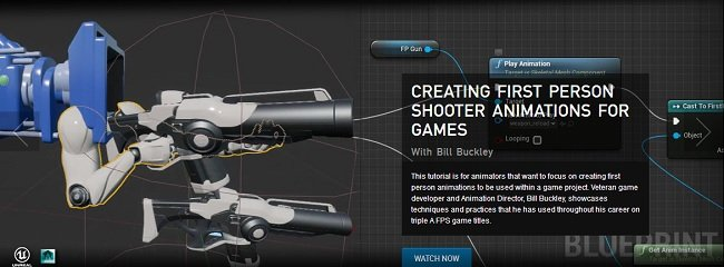 The Gnomon Workshop - Creating First Person Shooter Animations for Games
