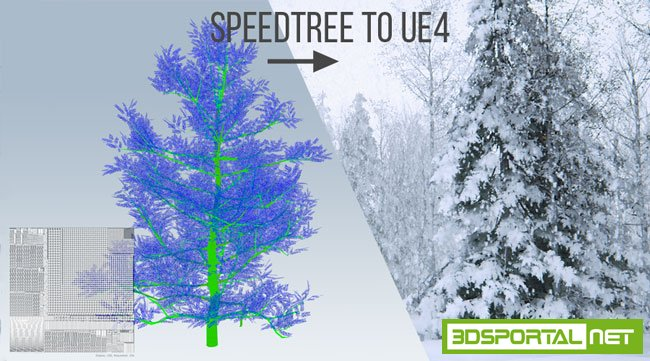 SpeedTree Collection for Unreal Engine 4