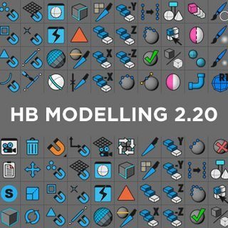 HelloLuxx - HB MODELLINGBUNDLE 2.20 for Cinema 4D