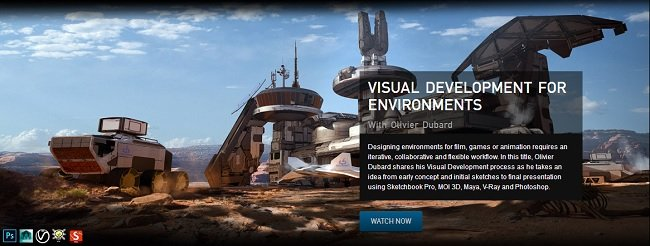 The Gnomon Workshop - Visual Development for Environments